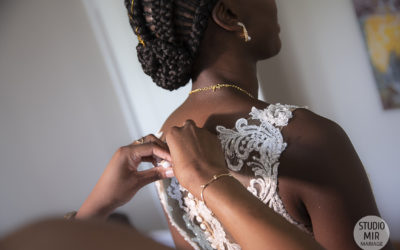 Photographe de mariage : Préparatifs de la mariée dans l'Oise