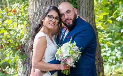 Photographe de mariage dans les Yvelines 78 : séance photo de couple au château du bois du rocher