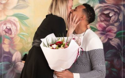 Photographe de mariage dans le Val de Marne : une séance photo de couple en studio