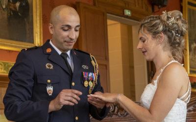 Photographe de mariage dans le Val de Marne : Cérémonie au Perreux sur Marne