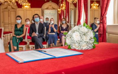 Photographe de mariage dans le Val de Marne – Cérémonie à la mairie de Maison Alfort