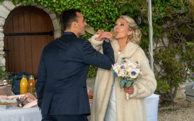 Photographe de mariage : Cocktail en Seine et Marne
