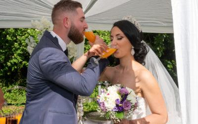 Photographe de mariage dans les Hauts de France – Cocktail des mariés